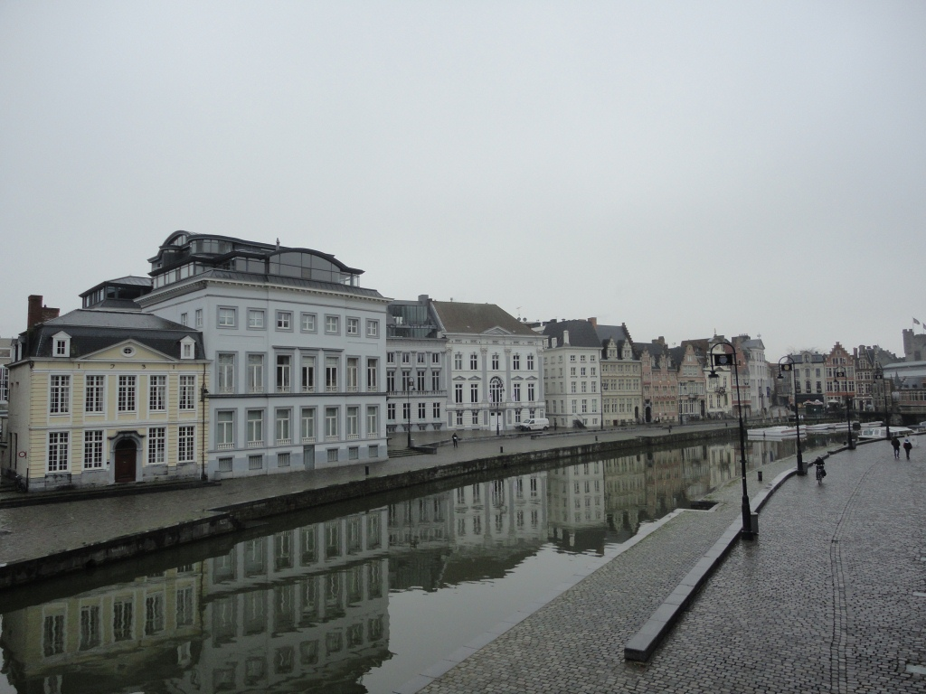 ゲント運河沿い4