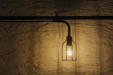draw a line lamp A B