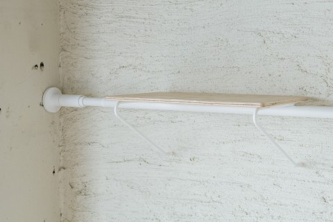 draw a line shelf A white