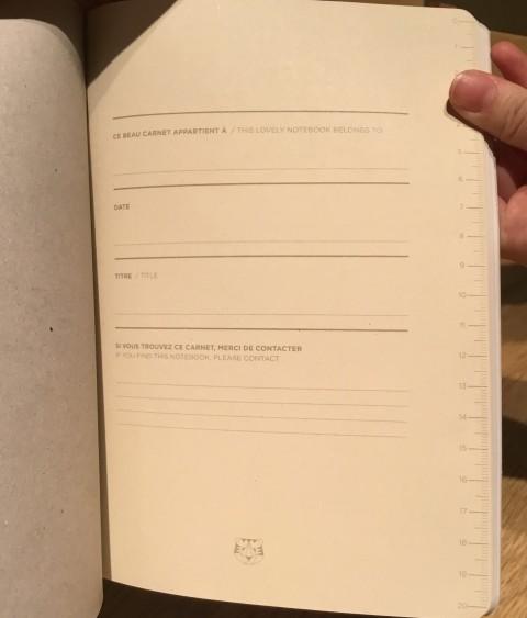 ノート中身